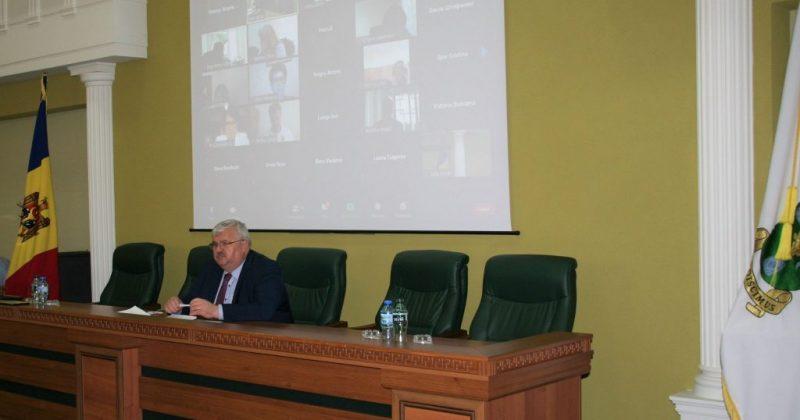 Senatul Universității de Stat din Moldova a aprobat direcțiile strategice de dezvoltare a  instituției pentru anii 2021-2026