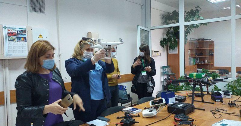 """Evaluarea ANACEC a cursului """"Educatie pentru Drone"""" la USM: undă verde către dezvoltarea organizațională"""