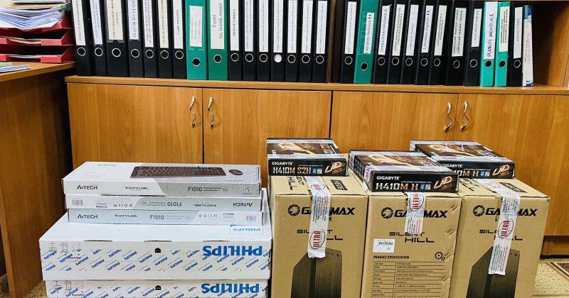 Facultatea de Litere a USM a primit o donație sub formă de echipament tehnic din partea Ambasadei Chinei în Republica Moldova