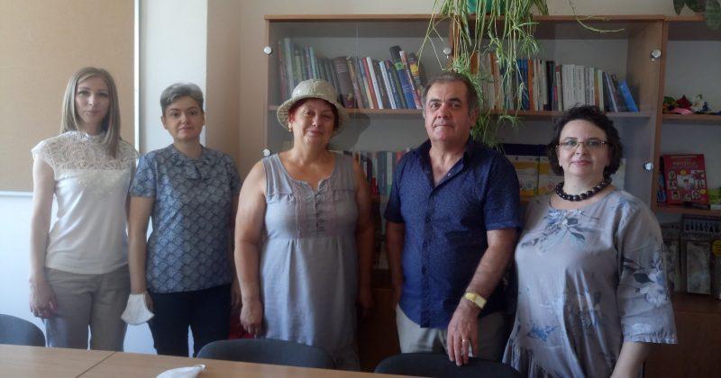 Inaugurarea Centrului didactic de educație interculturală la Facultatea de PȘESAS, USM
