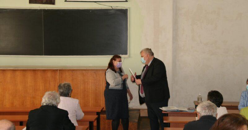 Direcțiile de dezvoltare strategică a Universității de Stat din Moldova au fost discutate cu angajații Facultății de Chimie și Tehnologie Chimică