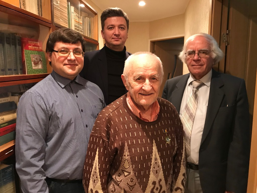 Profesorul Anatol Sîrghi la 90 de ani