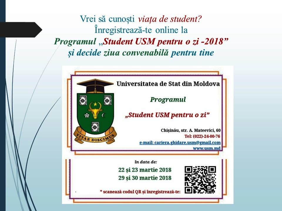 Vrei să cunoști viața de student