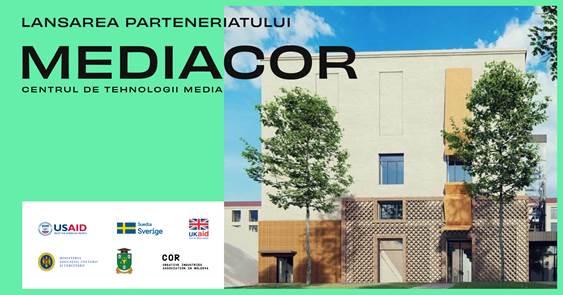MEDIACOR, primul centru de tehnologii media, în incinta USM