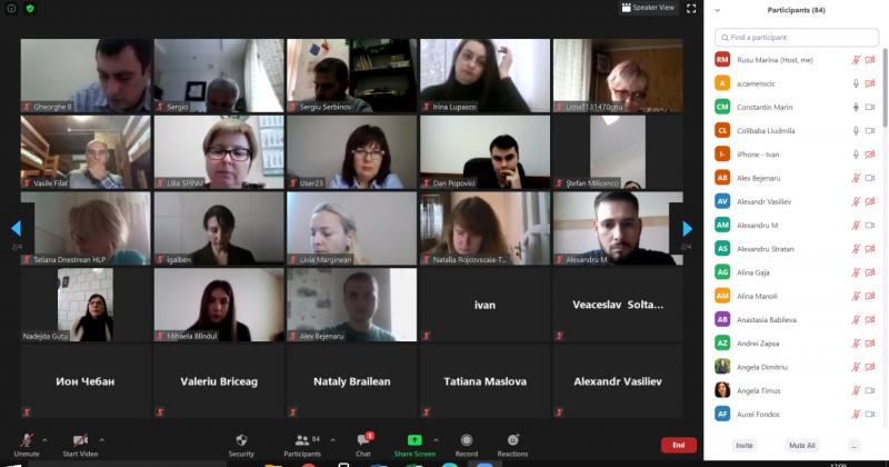 Reuniunea studenților-doctoranzi