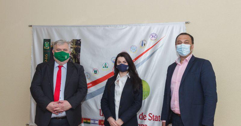Inițierea unui nou parteneriat între Universitatea de Stat din Moldova și Agenția de Cooperare Internațională a Germaniei în Republica Moldova