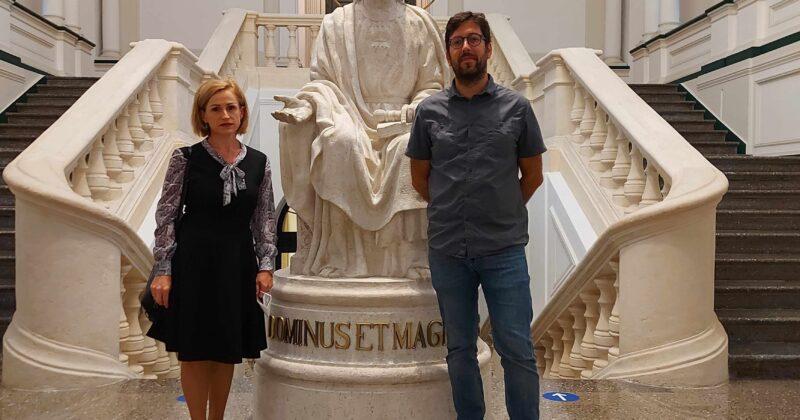 """Cercetători de la USM în vizită la Institutul pentru Drepturile Omului """"P. Arrupe"""""""
